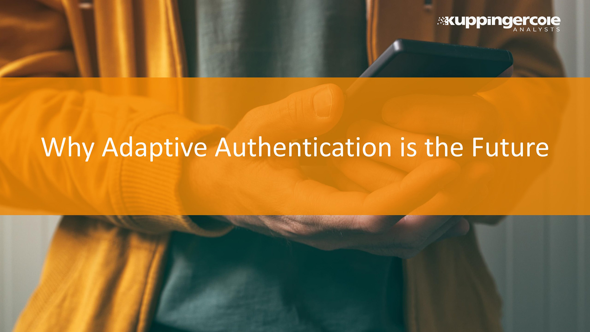 Why Adaptive Authentication is the Future